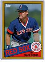 Wade Boggs 2020 Topps 1985 35th Anniversary 5x7 Gold #85-19 /10 Red Sox