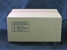 "NEW 460ct BROWN FOOD SAFE SINGLE WALL CORRUGATED CARDBOARD 17-1/4""X13""X9"" BOX"