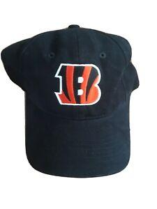 Cincinnati Bengals Hat Cap NFL V41 Headgear Black GUC