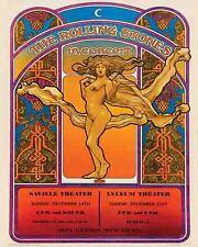 Rolling Stones    Mick Jagger     1969   Vintage  Promotional  Concert  Poster