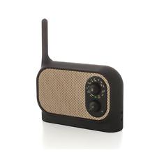 Lexon Mezzo radio con antenna, AM/FM MP3 aplificatore nero opaco LA90 N