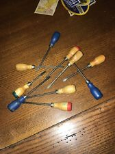 Toy Store Old New Stock Mini Screw Drivers 1950