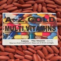 "A~Z GOLD MULTI VITAMINS ""The Vitamin""  90 Tablets  1 per day"