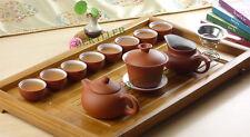 Red Clay White Glazed Yixing Zisha Tea Set 13 Pcs * Free Shipping
