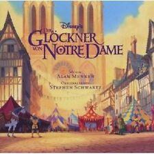 DER GLOECKNER VON NOTRE DAME  CD ORIGINAL SOUNDTRACK/FILMMUSIK NEU