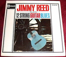JIMMY REED PLAYS 12 STRING GUITAR BLUES..1st PRESS 1963 VINYL LP EX 1N SL10086