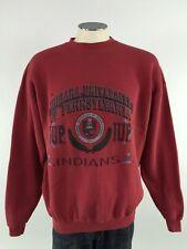 IUP Indians Crewneck Sweatshirt XL NCAA Mens VTG USA Indiana Pennsylvania Red