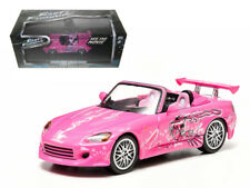 "Suki's 2001 Honda S2000 Pink ""2 Fast and 2 Furious"" Movie (2003) 1/43 Diecast Mo"
