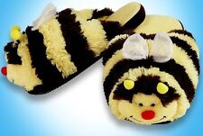 MY PILLOW PETS BUMBLE BEE size MEDIUM SLIPPERS TOY PLUSH  BRAND NEW BUMBLEBEE