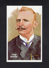 #17 CAP ANSON, Cubs ~ Perez-Steele Hall of Fame Art Postcard #326/10,000