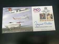 More details for baroness margaret thatcher signed fdc raf 80th anniversary number 008 of 200