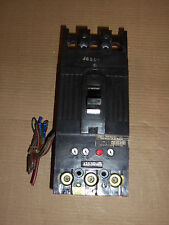 GE TFJ 3 pole 125 amp 600v TFJ236125 Circuit Breaker with Auxiliary Switch