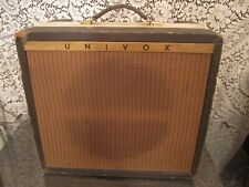 UNIVOX amplifier vintage 1960's or 1970's  tube guitar amp