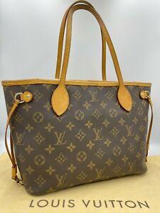Auth Louis Vuitton Monogram Neverfull PM M40155 Shoulder bag NS8-0543
