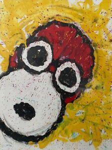 Tom Everhart, Peanuts Snoopy, Original Kunstdruck PP20/25 Handsigniert