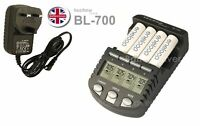 Technoline BL700N with 4 x eneloop AA - The Intelligent Battery Charger