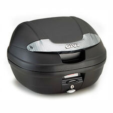 GIVI E340NT MONOLOCK MOTORCYCLE SCOOTER TOP BOX 34L WITH UNIVERSAL PLATE