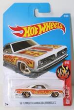 Mattel HotWheels HW Flames 68 Plymouth Barracuda Formula S 87/365 FNQHobbys NH32