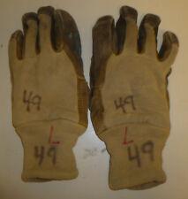 L Large Tan Gloves Firefighter Gloves Bunker Turn Out Gear G142