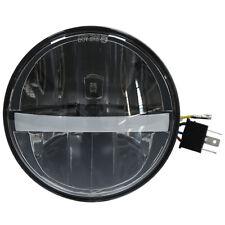 "5.75"" LED Head Light Lamp For Harley Dyna Fat Street Bob Super Low Wide Glide"