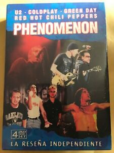 Phenomenon (U2,Coldplay,Green Day Red Hot Chilli Peppers) 4 disc set NEW SEALED