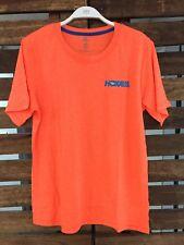 Hoka One One Running Gear Orange Logo NWOT Jersey Men's Top Shirt Medium