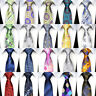 "57"" NEW Classic 8CM mens tie Man Silk ties Floral Geometric Jacquard Necktie"