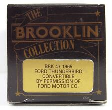 BROOKLIN 1965 FORD THUNDERBIRD CONVERTIBLE  BRK 47 1:43  (EMPTY BOX ONLY)