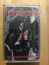 The Exploited Death Before Dishonour Cassette MC Punk Thrash Metal Like New