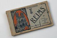REIMS France Nos Villes Martyres Antique Album Postcards Set of 20 Unused 1900s