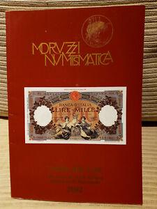 """CATALOGO MORUZZI NUMISMATICA """"ADDIO ALLA LIRA"""" 2002"""