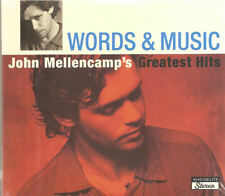 Words And Music: John Mellencamp's Greatest Hits [Digipak] (2 CD) New #0720HZ