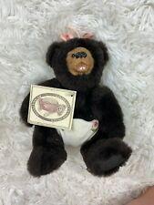 Kimbearly's Originals A&A Plush Bear Mini Baby Zoe S/No 2E/630 New