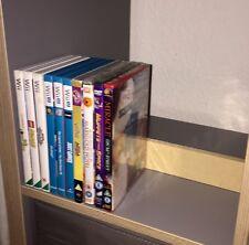 Shelf Stop/Buffer for DVD Blu Ray discs / VHS on Ikea Kallax + Expedit shelving