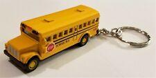 "Kinsmart - 2.5"" Mini School Bus Keychain (BBKT2523DK)"