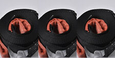 """three(3) 3"""" 6.5 TON Tow Strap 20 ft winch sling off road UTV snatch recovery 4WD"""