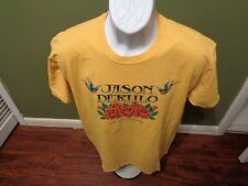 JASON DERULO 2014 YELLOW T SHIRT SIZE ADULT LARGE
