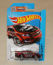 2015 Hot Wheels Hw City Card #22 Super Volt Red
