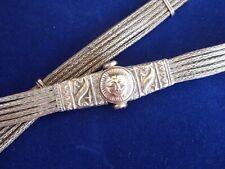 Antique / Vintage Maltese Silver / White Metal Ladies Belt
