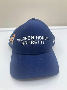 Mclaren Honda Andretti Hat. New Era #29 Blue Cap. Indy 500 Adjustable Strap ~WOW