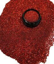 3ml Glitter 0,2mm, Rot Hologramm, Glitterstaub, Puder in Zip Tüte, Nr. 801-072-b