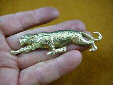 (b-leop-100) Cheetah pin lover heart I love big cat leopard leopards cheetahs