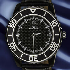 Tavan Ensign Mens Watch  (Available with Black/ Blue or Red Bezel (outside Ring)