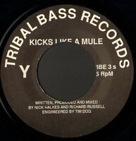 "KICKS LIKE A MULE the bouncer 7"" WS EX/ noc tribal base records TRIBE 3S"