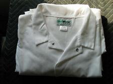 Lot 3 UniWear Cuffed Lab Coat, White 60-Rg