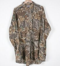 Vintage WRANGLER Camouflage Outdoor Hunting Military Camo Over Shirt R21021
