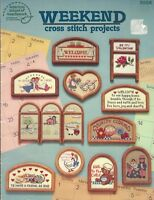 Counted Cross Stitch Patterns Weekend Cross Stitch Projects 24 Projects