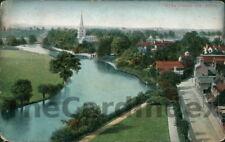 STRATFORD-UPON-AVON Town View Postcard nr Warwick WARWICKSHIRE