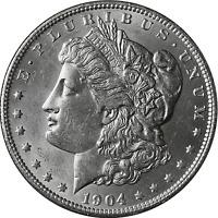 1904-P Morgan Silver Dollar Brilliant Uncirculated - BU