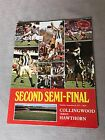 VFL/AFL Football Record Second Semi-Final 1977 Collingwood V Hawthorn